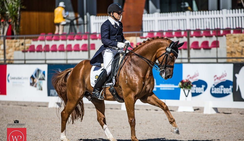 Gary Lung and'GB Winchester' place second with a score of 65.76%