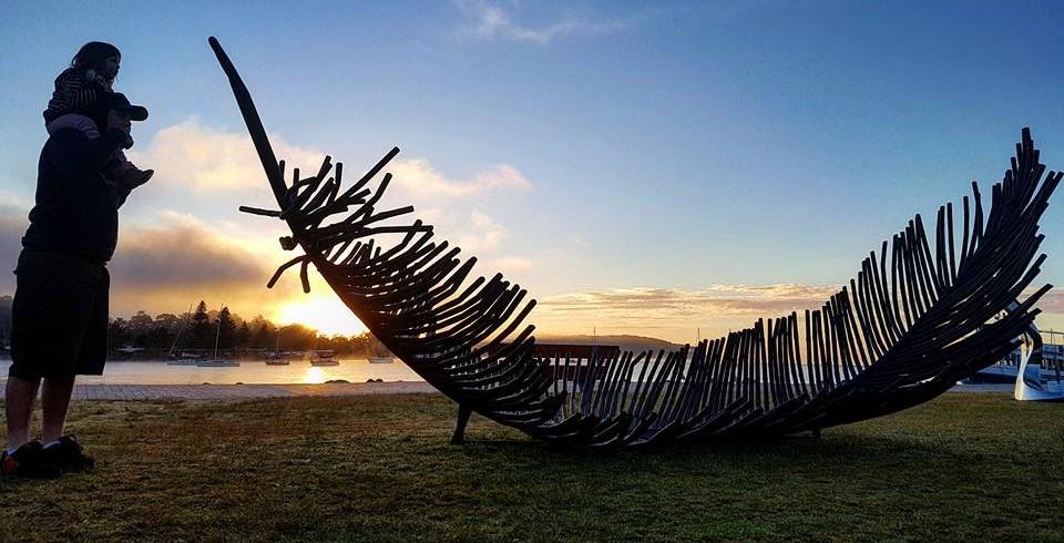 Sculpture on Clyde