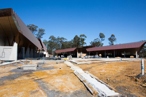 Update on the construction of Equestrian Centre Stables