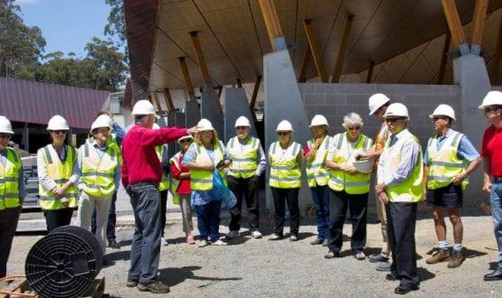Council site inspection