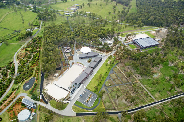 Aerial shot of the Willinga Park Property