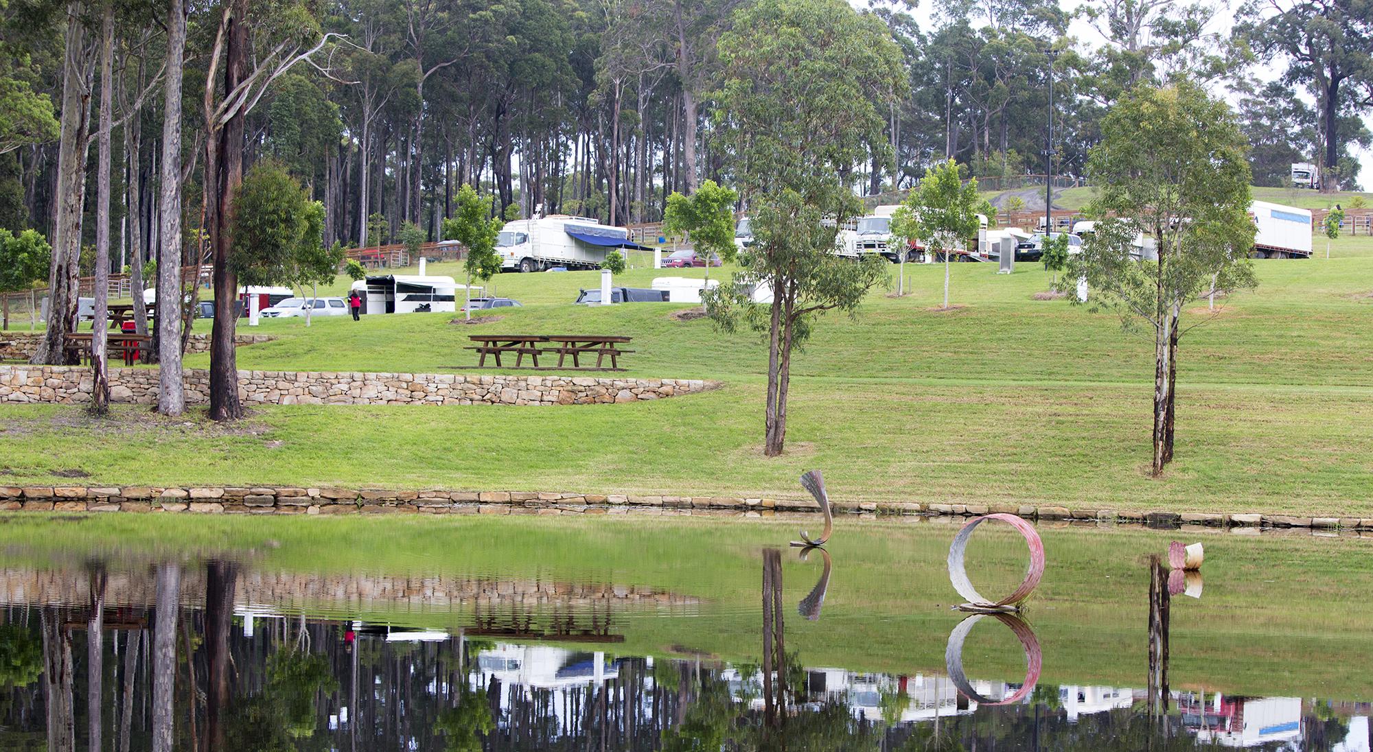 Campsite at Willinga
