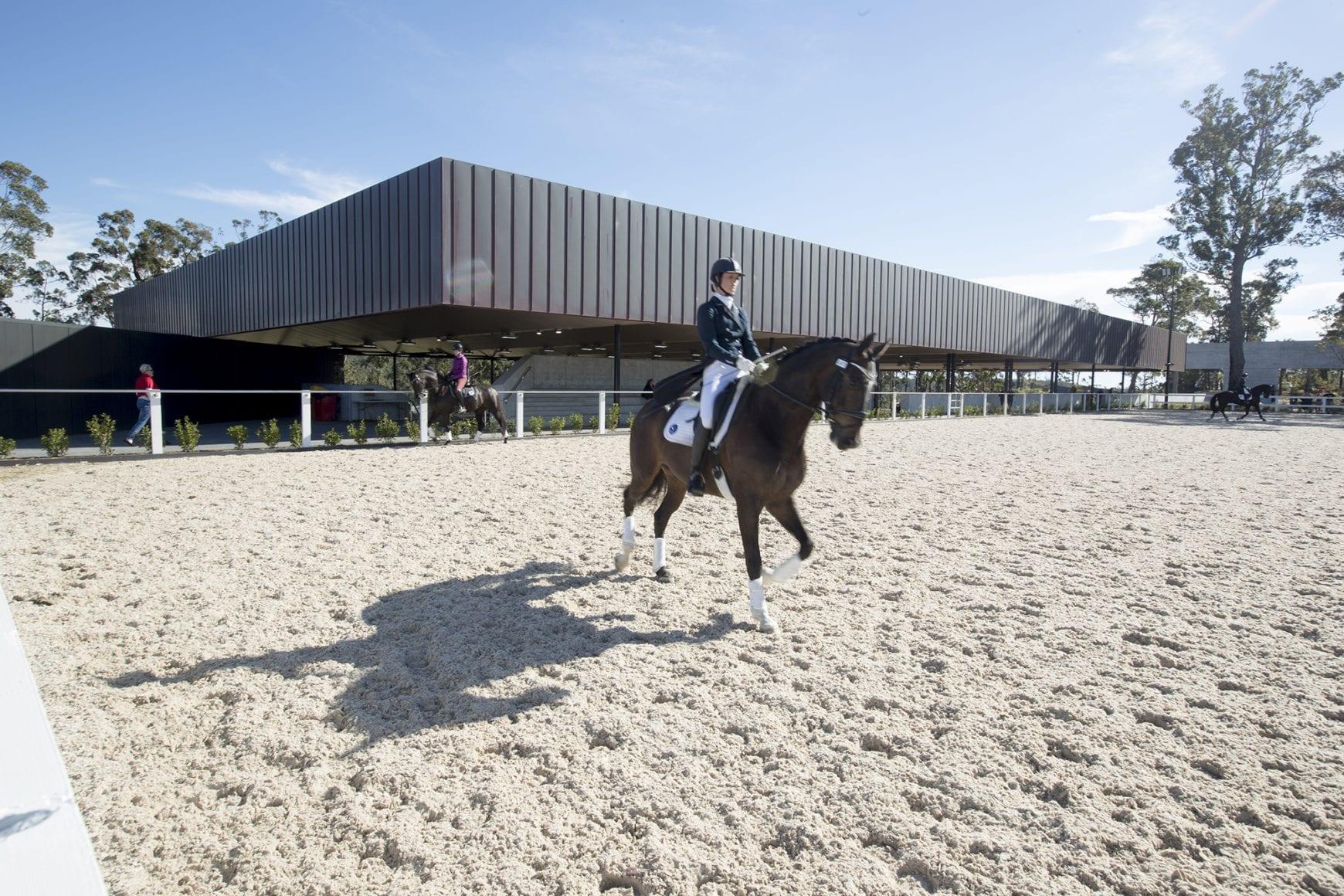 training arena
