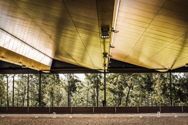 Roofing Architecture in the indoor arena