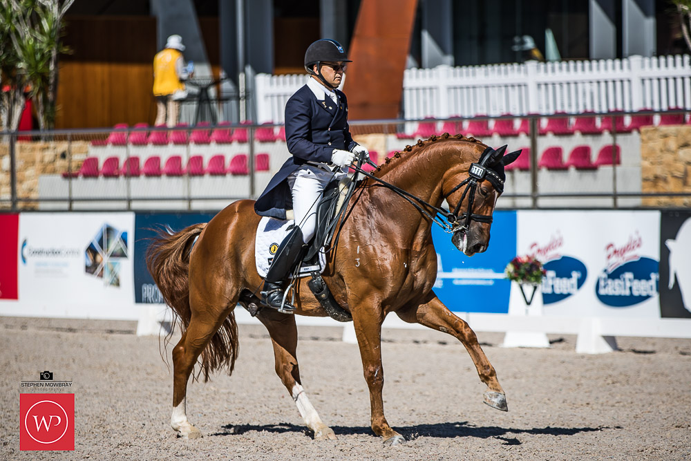 Gary Lung and 'GB Winchester' place second with a score of 65.76%