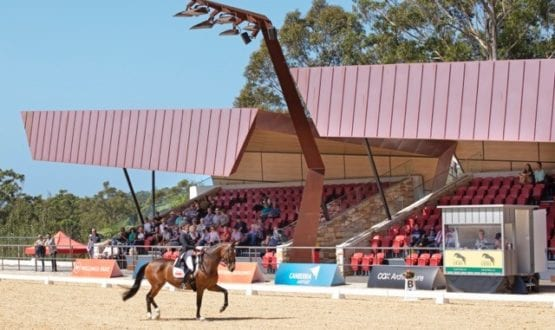 Dressage by the Sea 2019 Outdoor arena