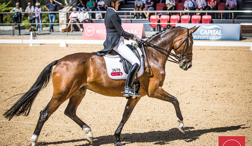 Fiona Selby and'Tacita' win the Grand Prix CDI4 Star Freestyle