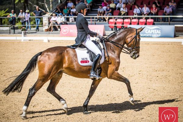 Fiona Selby and 'Tacita' win the Grand Prix CDI4 Star Freestyle