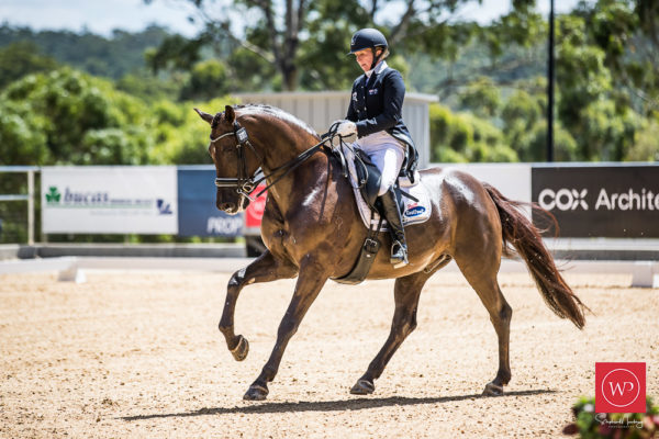 WP919842-Rozzie Ryan and 'Jarrah R' win the Grand Prix Special CDI4 Star class with a 66.489% test