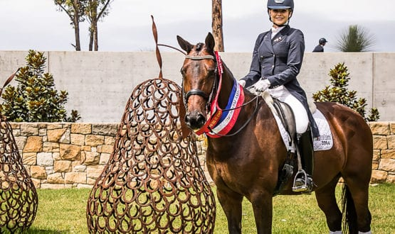 Rosanna Relton CDI-U25 Most Successful rider
