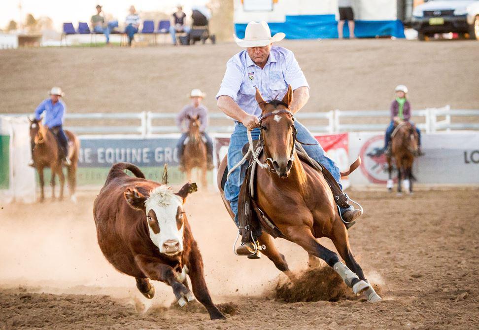 Troy Palmer riding Hells a Comin